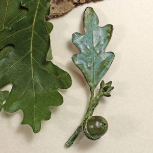 Oak Acorn Pin
