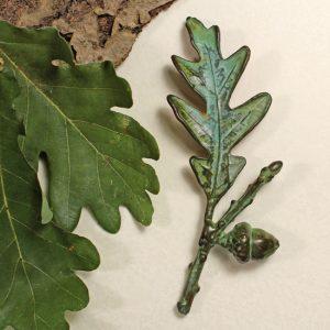Oak, Acorn Pin